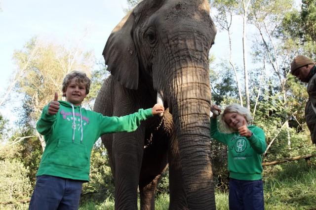 Mein Bruder und ich – diesmal in Afrika!